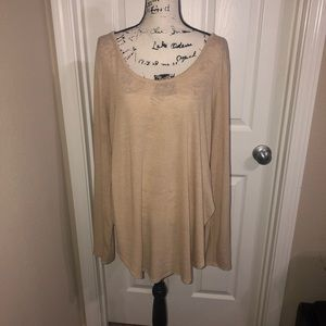 Forever 21 Plus Size Slouchy Long Sleeve Top